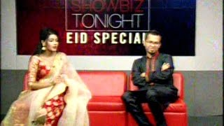 BD Film Actress Mahiya Mahi Bangla Eid Special Talkshow With Her New Husband Apu