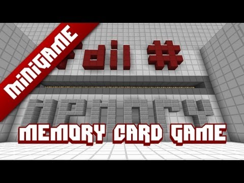 Minecraft Mini Game: Memory Card Game