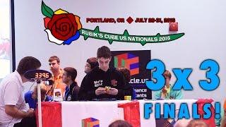 2016 Rubik's Cube US National Championship 3x3 Finals