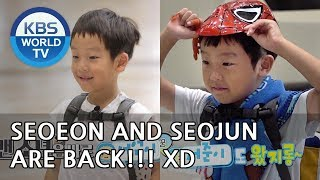 Seoeon and Seojun are back!! They've grown so much!! [The Return of Superman/2018.11.04]