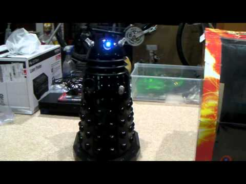 Dr Who Voice Controlled Dalek w/ Remote Control