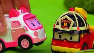 Robocar Poli Toys Plante Des Arbres. Vidéo Pour Les Enfants.