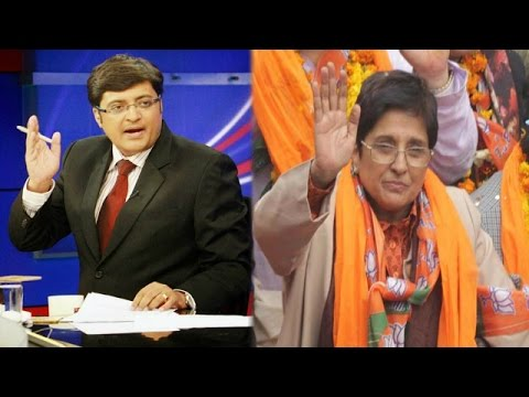 The Newshour Debate:Kiran Bedi 'Sells' Barack Obama Visit - Full Debate (27th Jan 2015)