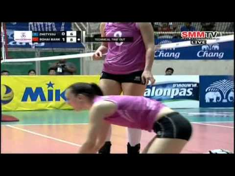 Bohai Bank Tianjin(CHN) - Zhetyssu(KAZ) Women's Club 17-04-2014