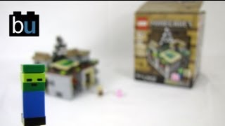 LEGO Minecraft The Village Micro World Set Review 21105