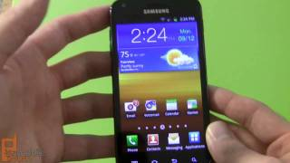 Samsung Galaxy S II Epic 4G Touch (Sprint) video tour - part 1 of 2