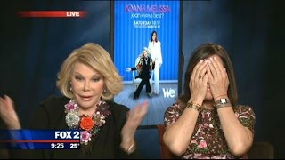 Joan Rivers leaves Jason Carr speechless