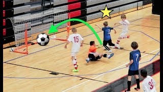 ⚽️10 Year Olds VS 12 Year Olds FUTSAL Soccer Tournament!⚽️