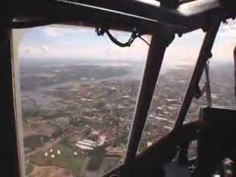 RAF C-130 Hercules delivering UK humanitarian aid to the Philippines. Part 2 of 3