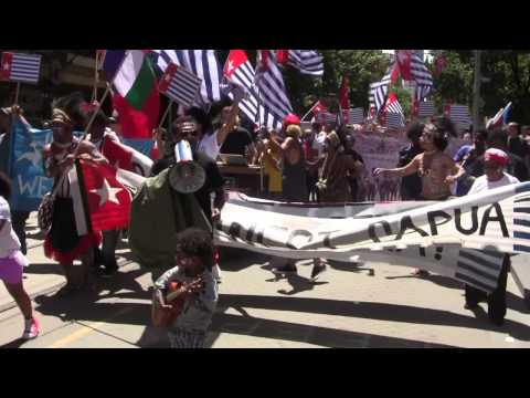 West Papua Rally Melbourne 1.12.2012 video