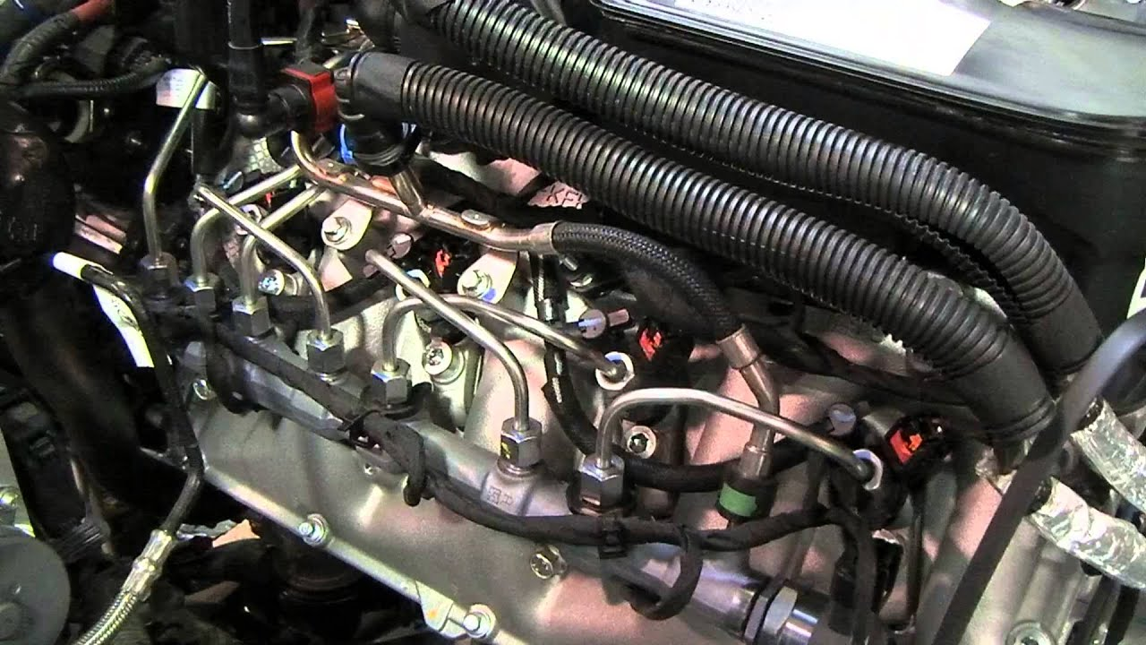 6 7 Powerstroke Fuel Rail And Intake Youtube