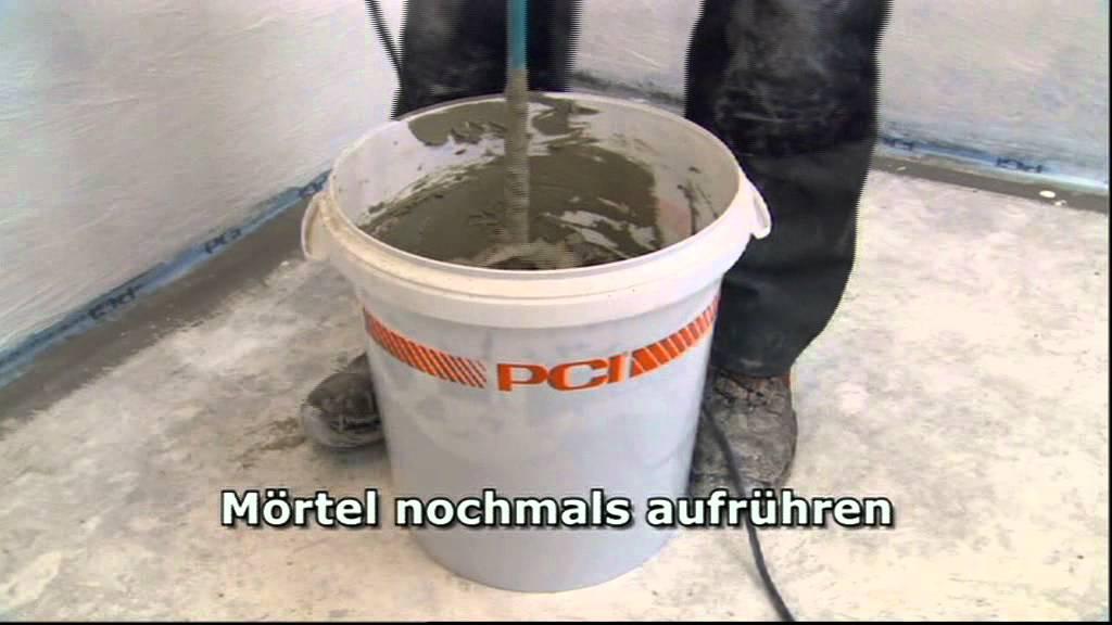 Fliesen Dusche Wasserdicht : Abdichtung und Fliesen Verlegung im Bad – YouTube