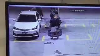 Assaltante linchado apos tentativa de roubo em posto de gasolina - Curitiba
