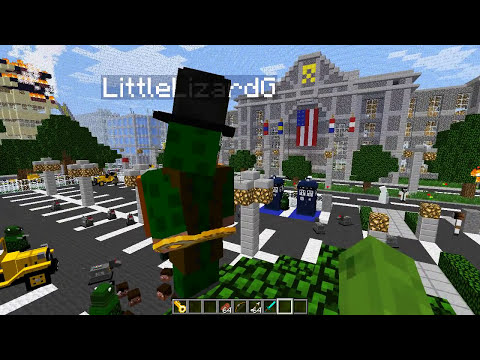Minecraft Mods - MORPH MOD HIDE AND SEEK - DR WHO MOD #8