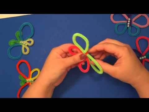 Pipe Cleaner Projects Pipe Cleaner Butterflies