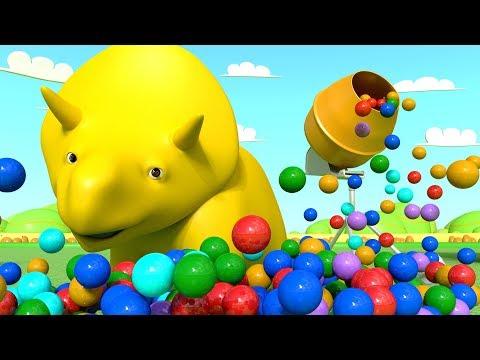 Ucz Się Z Dino I Ethan | Bajka Edukacyjna Dla Dzieci - LIVE