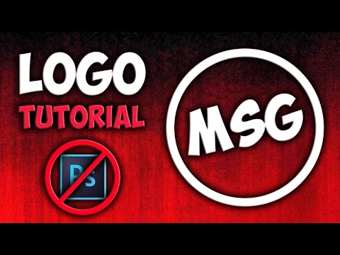 How To Make A Professional Logo!! [WITHOUT PHOTOSHOP]