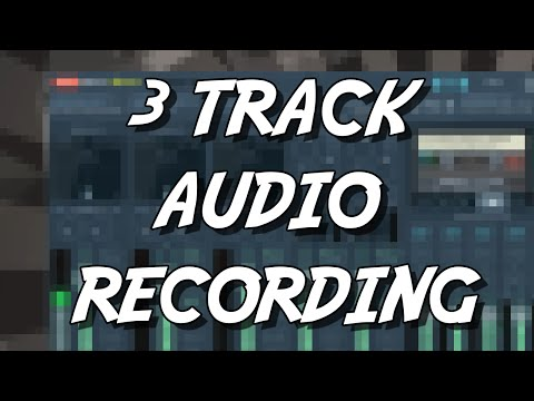 3 Track Audio Recording using Voicemeeter Banana, Playclaw and more  ( Tutorial / Howto )