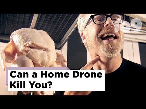Разрушители легенд проверили, может ли дрон убить человека