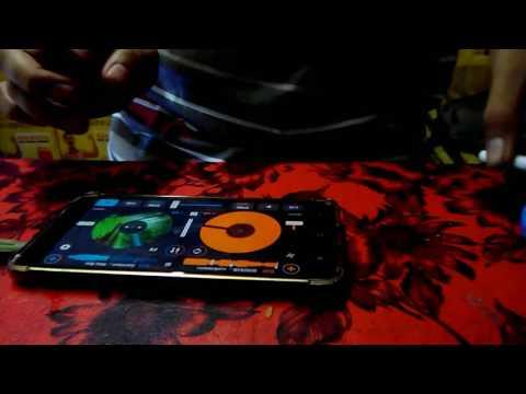 ORANG INI MAIN DJ CUMAN PAKE ANDROID SERASA DJ BENERAN (CROSS DJ)