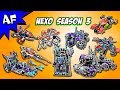 Every Lego Nexo Knights Season 3 Sets Complete Collection mp3