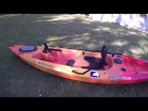 Perception Pescador 12 Sit On Top Angler Kayak Review