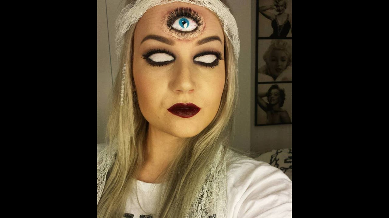 Batman eye makeup 2