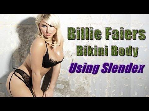 Billie Faiers Bikini Body - Slendex Cellulite Mousse - BeautyBend.com