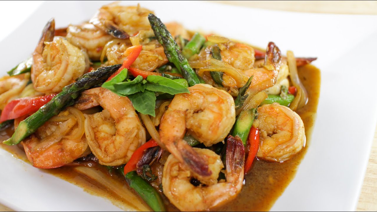 shrimp stir fry recipe shrimp and asparagus shrimp and asparagus with ...