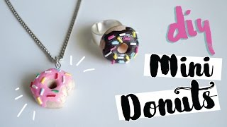 DIY: MINI DONUTS (Colar e Anel)! Por Isabelle Verona