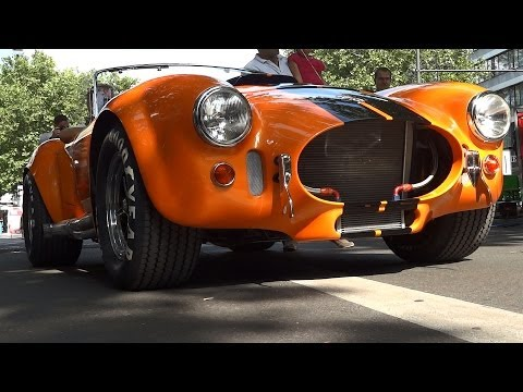 Shelby Cobra 515hp V8 LOUD Sound / Start up & Acceleration Sound