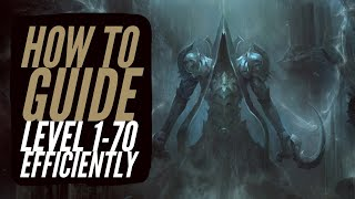 Diablo 3 - How To Level 1-70 Efficiently