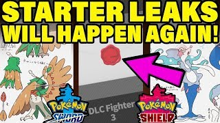 Why Pokemon Sword and Shield Starter Leaks WILL HAPPEN! (Gen 8 Pokemon Leaks)