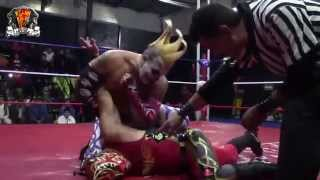 PAPA MILO: LAREDO KID PANTERA JR VS MR AGUILA ANTIFAZ
