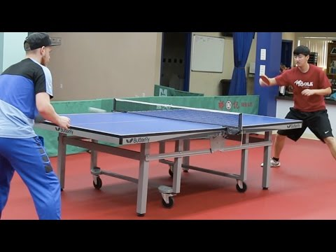 What It Takes To Be An Olympic Table Tennis Player
