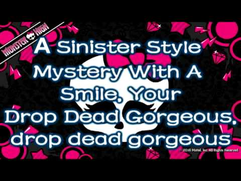 Monster High- Fright Song (lyrics) video