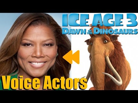 """Ice Age: Dawn Of The Dinosaurs"" Voice Actors And Characters"