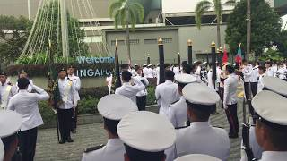 Singapore National Day Parade 2018 Uncasing of Colours Ceremony