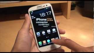 Samsung Galaxy S3: Set your Own Music (MP3) as Custom Notification Ringtone