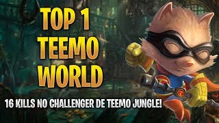 TOP 1 TEEMO WORLD - AYEL E MANDIOCA NEM TIVERAM CHANCES, ARTHUR LANCHES A LENDA!!!