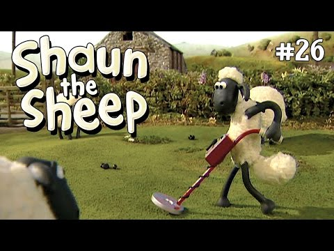 Shaun the Sheep - Membuat Patung [Heavy Metal Shaun]
