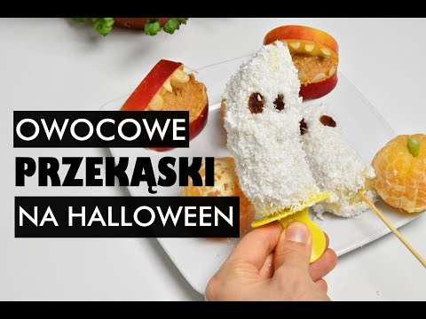 3 Owocowe Przekąski Na Halloween | Wegańskie | Surowe | SweetRAWstyle