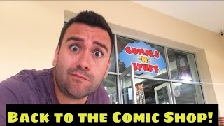Back to the Comic Shop!