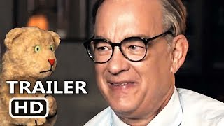 A BEAUTIFUL DAY IN THE NEIGHBORHOOD Trailer (2019) Tom Hanks as Fred Rogers, Biopic Drama Movie