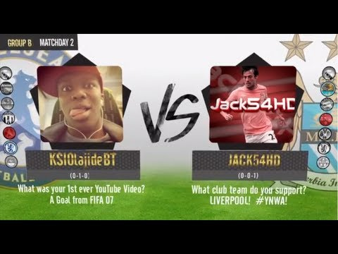 FIFA 13 | KICK TV: KSIOlajidebt vs Jack54HD - Game Reaction