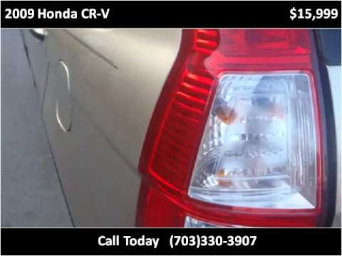 2009 Honda CR-V Used Cars Manassas VA
