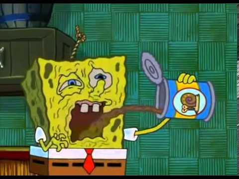 Spongebob Eats Snail Food Youtube