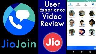 Jio App Review - JioJoin App Review | Reliance Jio 4G App Demo Video