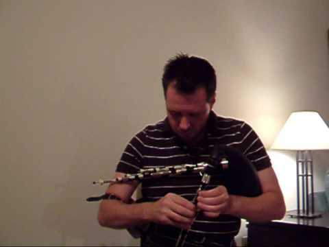 Northumbrian Smallpipes - Stowey (When a Knight Won His Spurs) / Julia's Waltz - Chris Evans