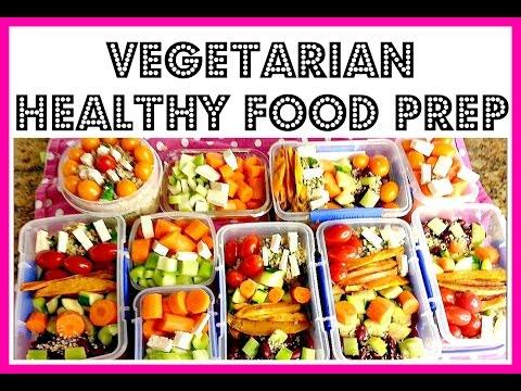 HOW TO FOOD PREP | VEGETARIAN | MY HEALTHY WEEKLY MEAL PREP